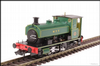 Hattons H4-AB14-005 Andrew Barclay 0-4-0ST 14 2134 WTT in lined green